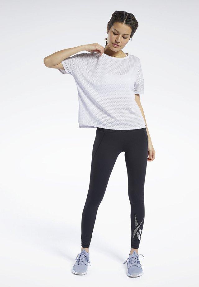 PERFORATED - T-shirt print - white