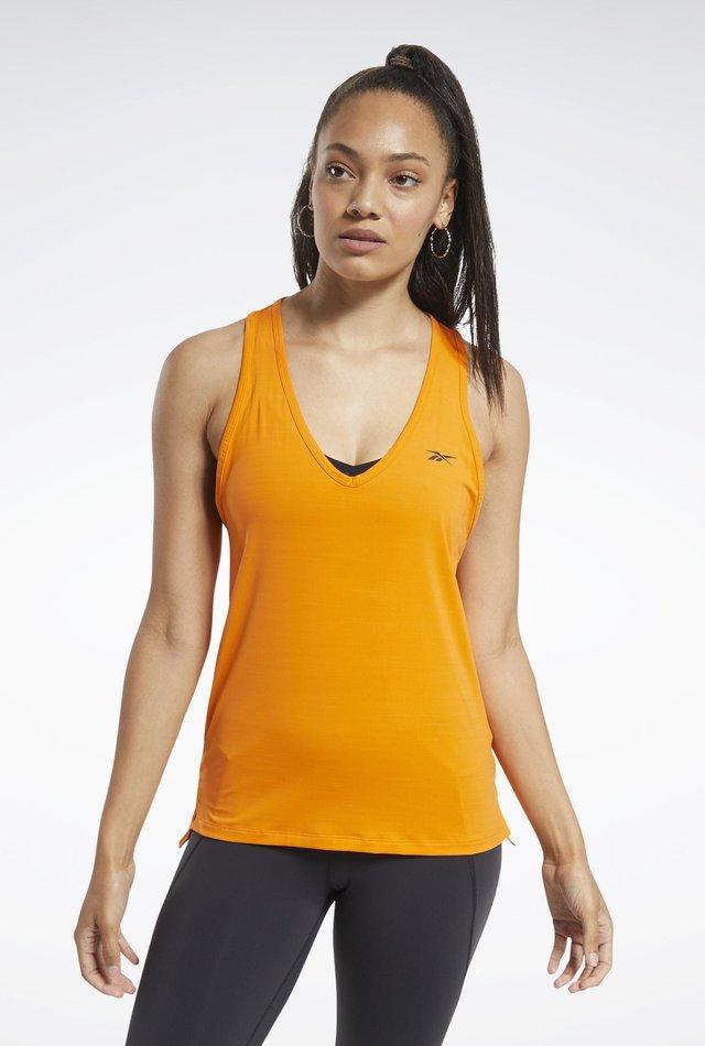 ACTIVCHILL Athletic Tank Top - Top - Orange