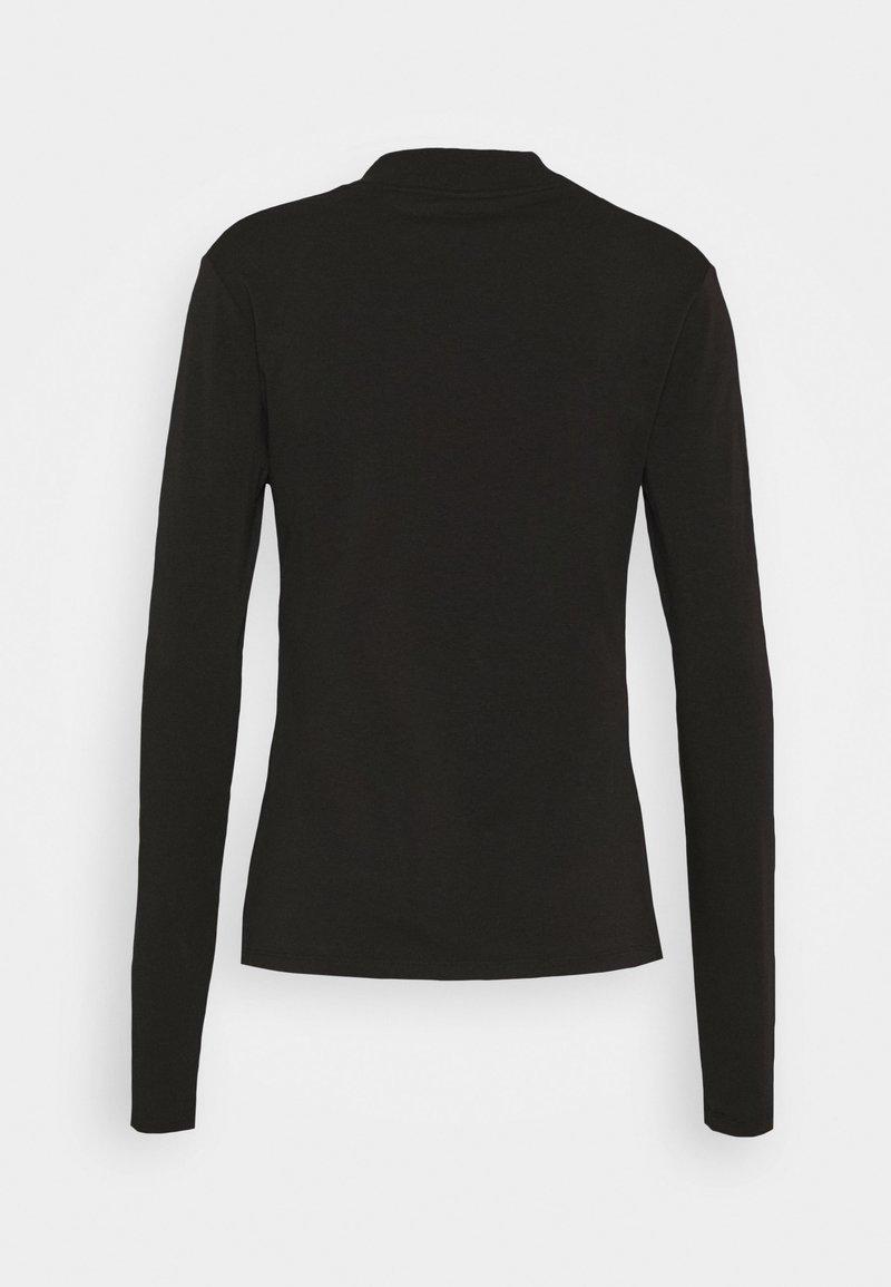 Reebok LONG SLEEVE TEE - Maglietta a manica lunga - black lmZLph fashion style