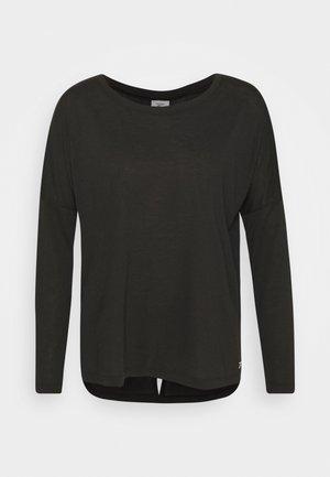 SUPREMIUM LONG SLEEVE - Sports shirt - black