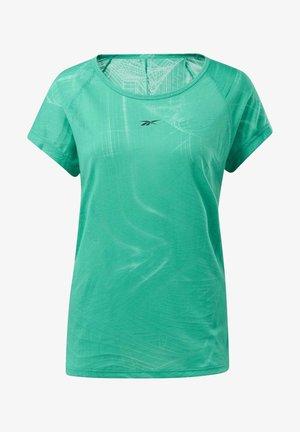 BURNOUT T-SHIRT - T-shirt print - green