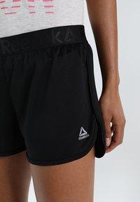 Reebok - WOR EASY - Pantalón corto de deporte - black - 3