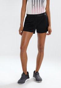 Reebok - WOR EASY - Pantalón corto de deporte - black - 0