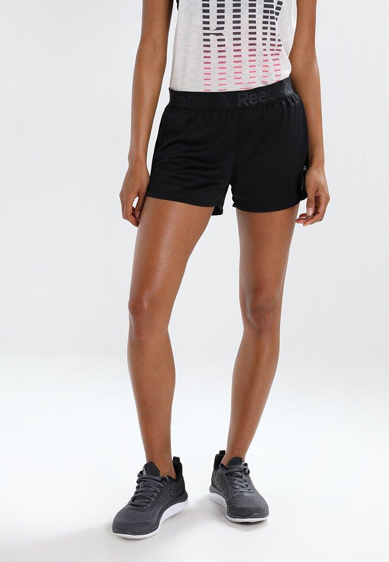 Reebok - WOR EASY - Pantalón corto de deporte - black
