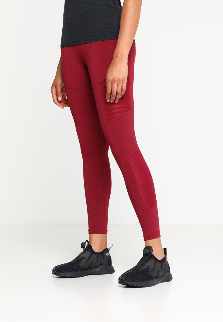 Reebok - Leggings - dark red