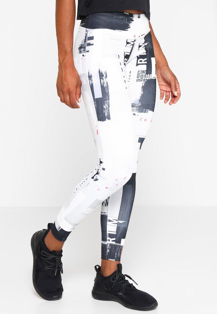 Reebok - LUX  - Leggings - white