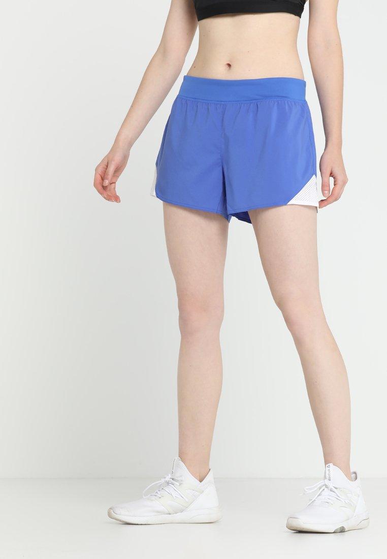 Reebok - kurze Sporthose - blue
