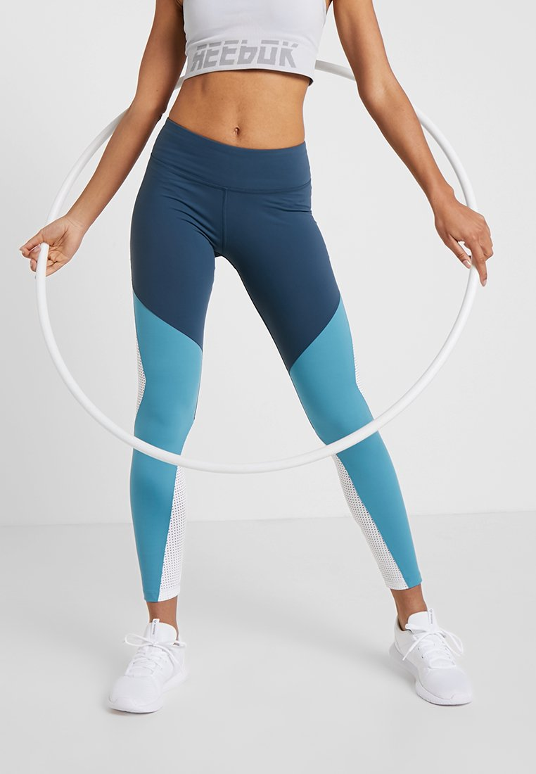 Reebok - LUX - Tights - blue