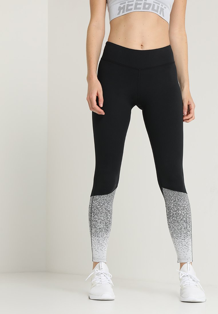 Reebok - FADE - Leggings - black