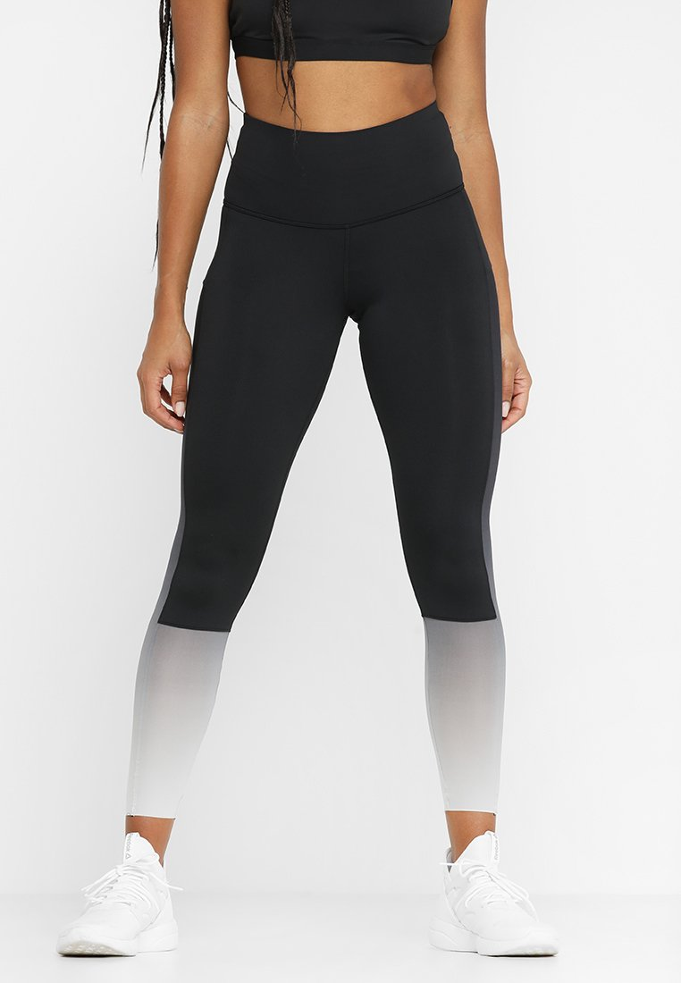 Reebok - OMBRE - Tights - black