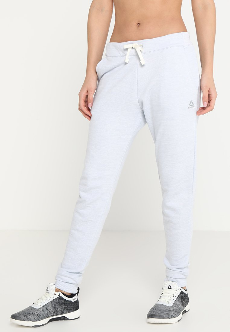 Reebok - MARBLE PANT - Jogginghose - white