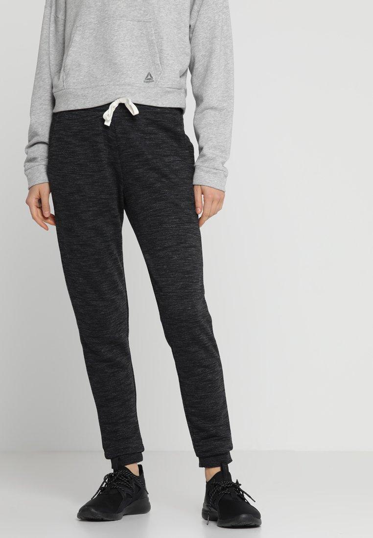 Reebok - MARBLE PANT - Pantalon de survêtement - black