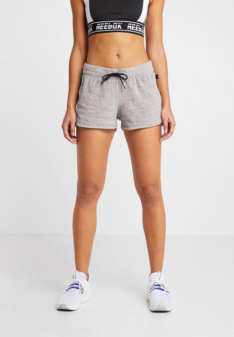 Reebok - SHORT - kurze Sporthose - grey
