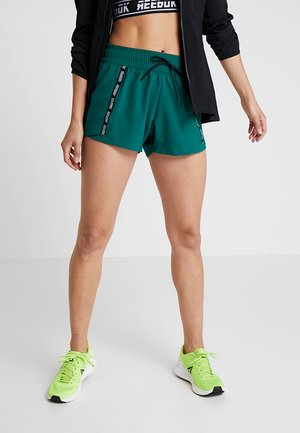 MEET YOU THERE TRAINING SHORTS - Pantalón corto de deporte - green
