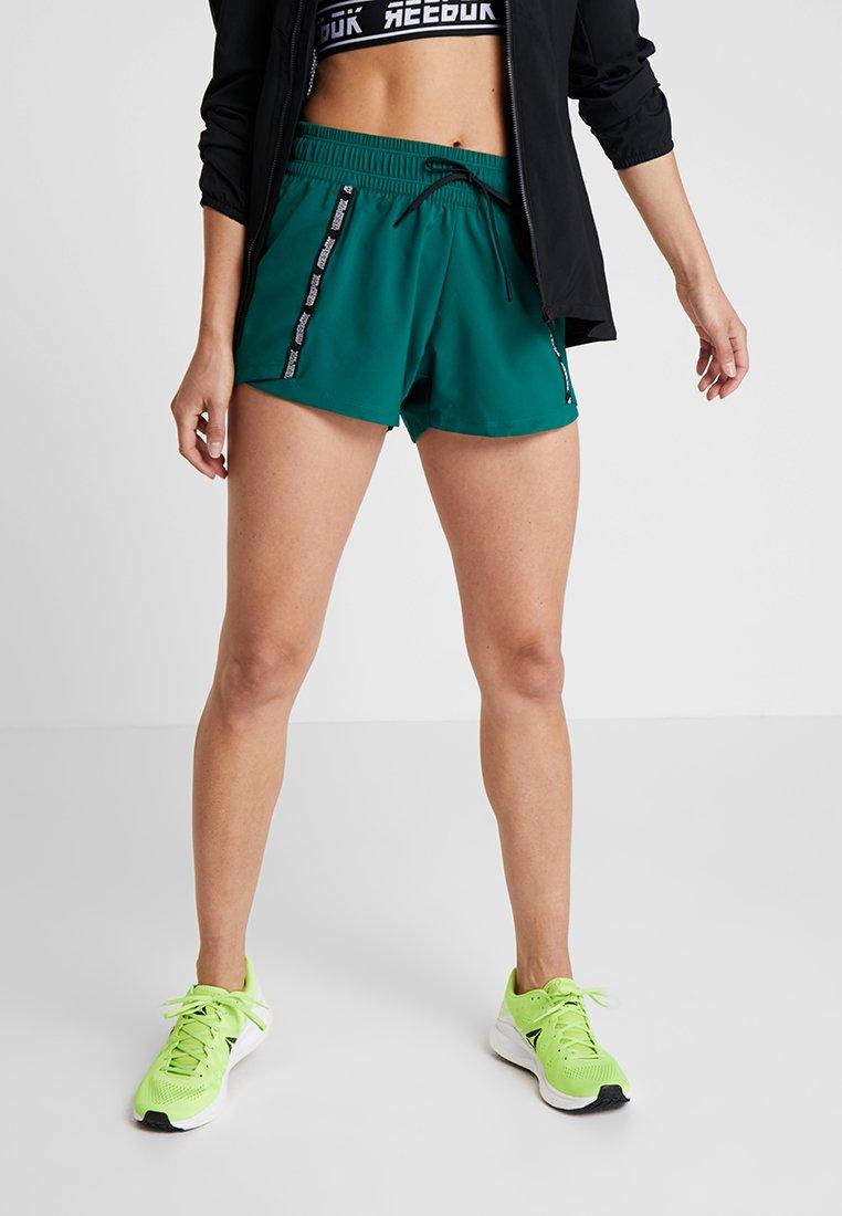 Reebok - SHORT - kurze Sporthose - green