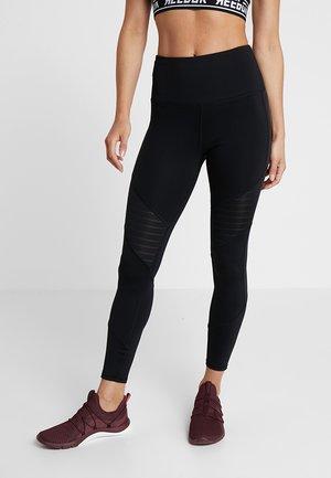 STUDIO MESH RUNNING LEGGINGS - Tights - black