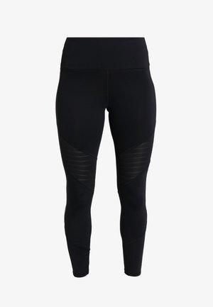 STUDIO MESH RUNNING LEGGINGS - Legging - black