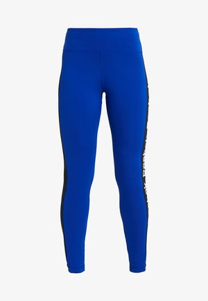 TRAINING ESSENTIALS LINEAR LOGO LEGGING - Leggings - cobalt