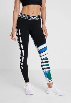 MEET YOU THERE TRAINING LEGGING - Leggings - glover green