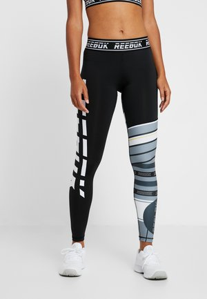 MEET YOU THERE TRAINING LEGGING - Tights - black