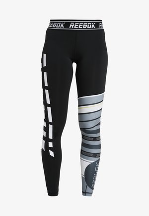 MEET YOU THERE TRAINING LEGGING - Trikoot - black