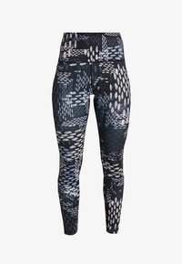 Reebok - STUDIO LUX TRAINING HIGH-RISE LEGGING - Legging - black - 3