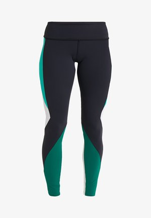 LUX - Tights - black/green