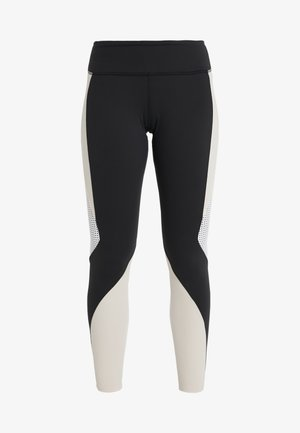 LUX - Leggings - black/buff