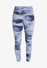 Reebok - LUX BOLD HIGH RISE - Legging - blue - 3
