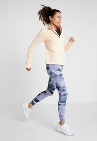 Reebok - LUX BOLD HIGH RISE - Legging - blue - 1