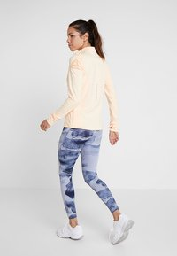 Reebok - LUX BOLD HIGH RISE - Legging - blue - 2