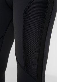 Reebok - TRAINING HIGH-RISE LEGGING - Leggings - black - 3