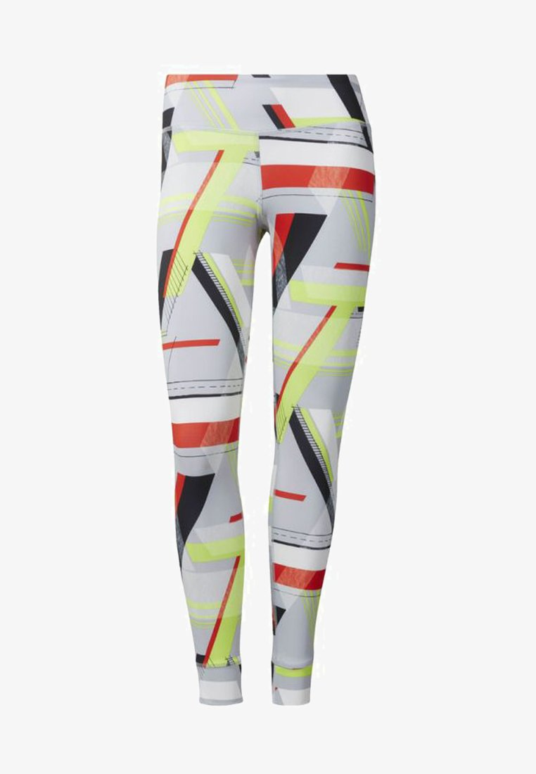 Reebok - LUX BOLD TIGHTS - Legging - gray