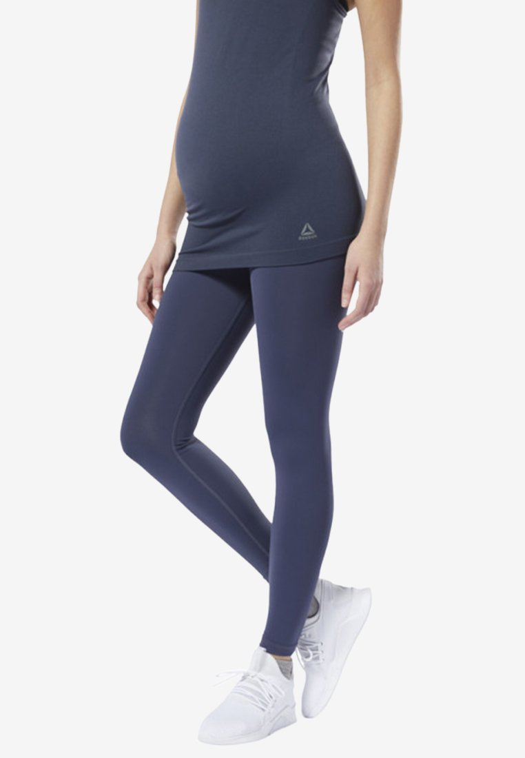 Reebok YOGA LUX 2.0 MATERNITY TIGHTS - Collants blue