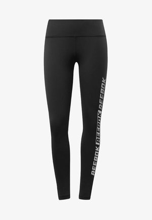 STUDIO REEBOK LUX TIGHTS - GRAPHIC - Medias - black