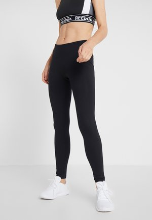 ELEMENTS TRAINING LEGGING - Punčochy - black