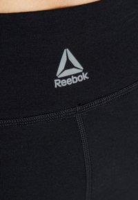 Reebok - ELEMENTS TRAINING LEGGING - Collants - black - 5