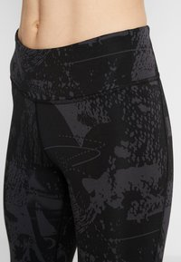 Reebok - LUX TRAINING MIXED MARTIAL ARTS LEGGINGS - Medias - black - 3