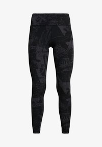 Reebok - LUX TRAINING MIXED MARTIAL ARTS LEGGINGS - Medias - black - 4