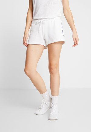 LINEAR LOGO ELEMENTS SPORT SHORTS - Sports shorts - white