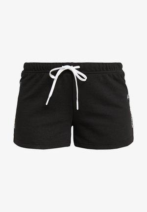 LINEAR LOGO SHORT - Korte broeken - black