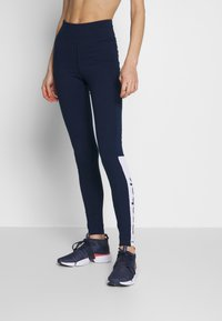 Reebok - ELEMENTS TRAINING LEGGINGS - Trikoot - conavy - 0