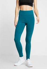 Reebok - ELEMENTS TRAINING LEGGINGS - Punčochy - hertea - 0
