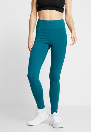 LINEAR LOGO LEGGING - Tights - hertea