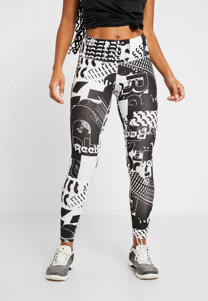 Reebok - LEGGING - Tights - black