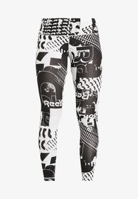 Reebok - LEGGING - Tights - black - 4