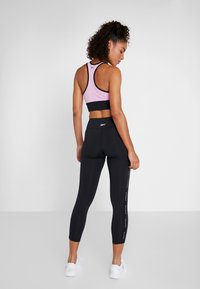 Reebok - LUX STUDIO STUDIO LEGGINGS - Legging - black - 2