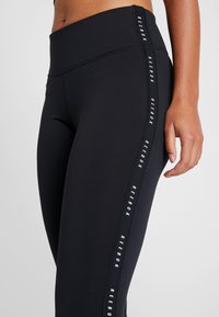 Reebok - LUX STUDIO STUDIO LEGGINGS - Legging - black