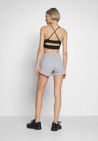 Reebok - FRENCH TERRY ELEMENTS SPORT SHORTS - Sports shorts - grey - 2
