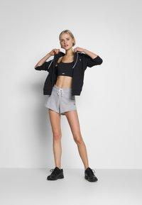 Reebok - FRENCH TERRY ELEMENTS SPORT SHORTS - Sports shorts - grey - 1